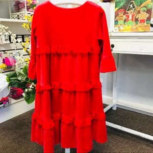 Hannah Anderson dress red size 110